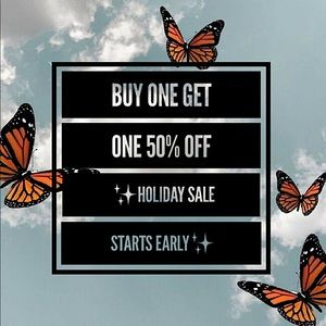 THE HOLIDAY SALE BEGINS!